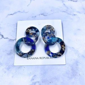Banana Republic Circle Drop Earrings - New! 🌺